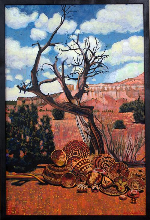 Ghost Ranch Baskets by Jack Gunter