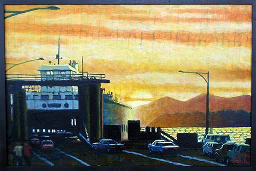 Evening Boarding by Jack Gunter