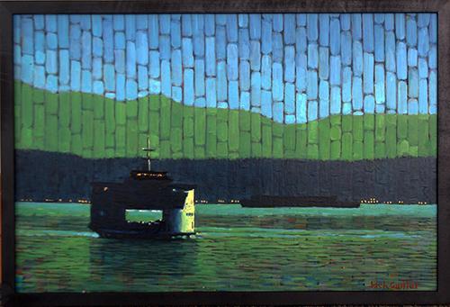 Nocturne Ferry by Jack Gunter
