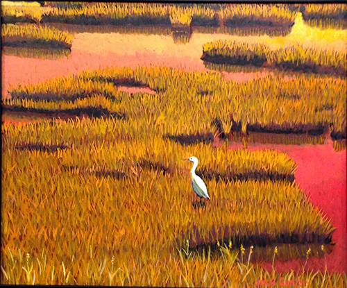 Sunset Marsh  by Jack Gunter