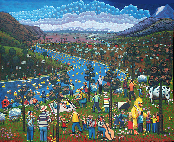Stilly River Rubber Duck Race by Jack Gunter