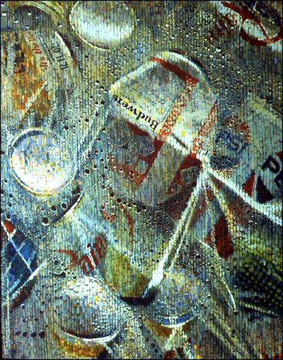 Aluminum Cans in a Plastic Bag 1987