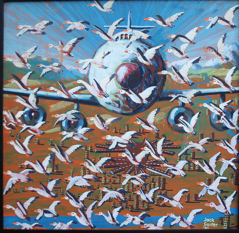 1990-last-time-they-saw-a-snow-goose-1-24x24